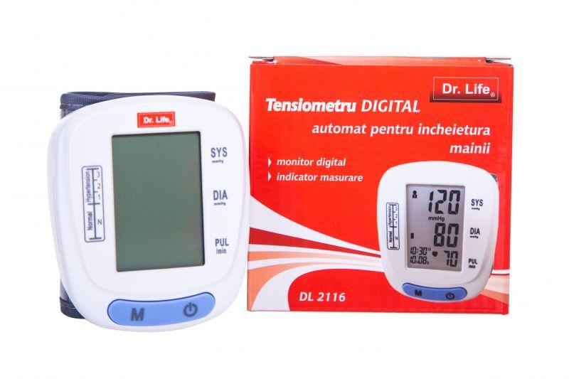 Tensiometru incheietura DL2116 Dr. Life