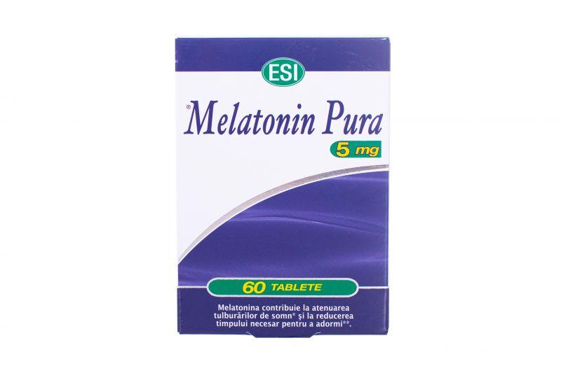 Melatonina Pura 5mg, 60 tbl, ESI