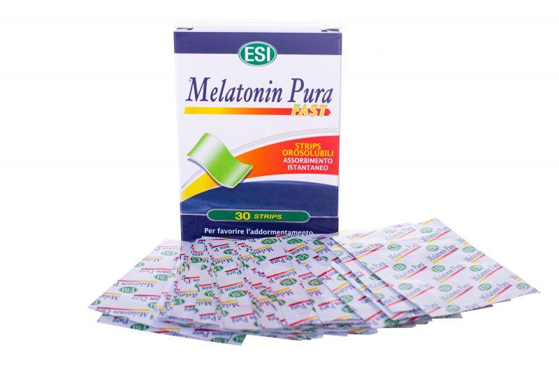 Melatonina Pura Fast 1 mg, 30 strips, ESI