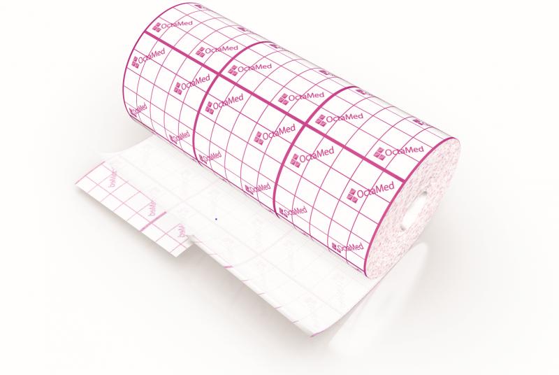 Banda adeziva suport elastic Octacare, 30cm*10m, OctaMed